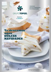 Ofertas de Grupo Topgel para Hostelería y Alimentación Navidad 2016. Alicante, Valencia y Castellón.