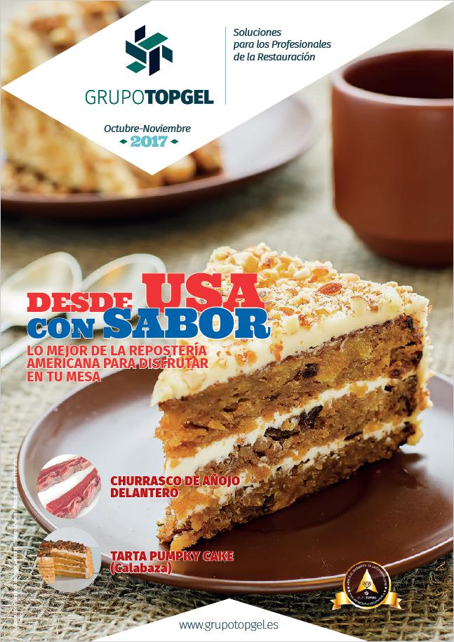 Lo mejor de la Repostería americana para disfrutar en tu mesa